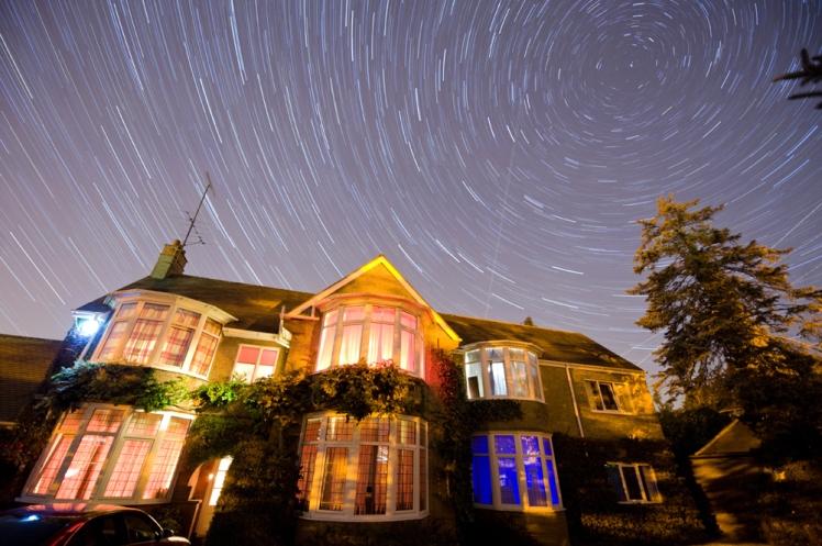 Stars Over House