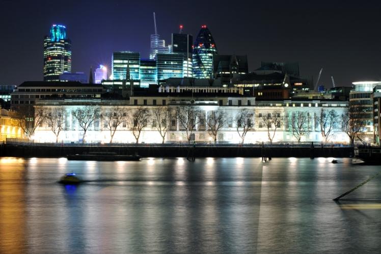 Huddling Towers Thames