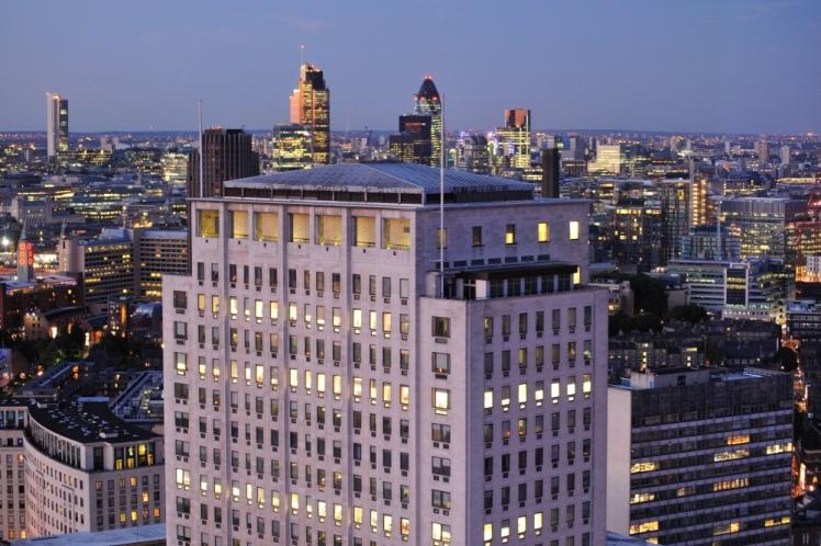 Relentless Sprawl View from London Eye